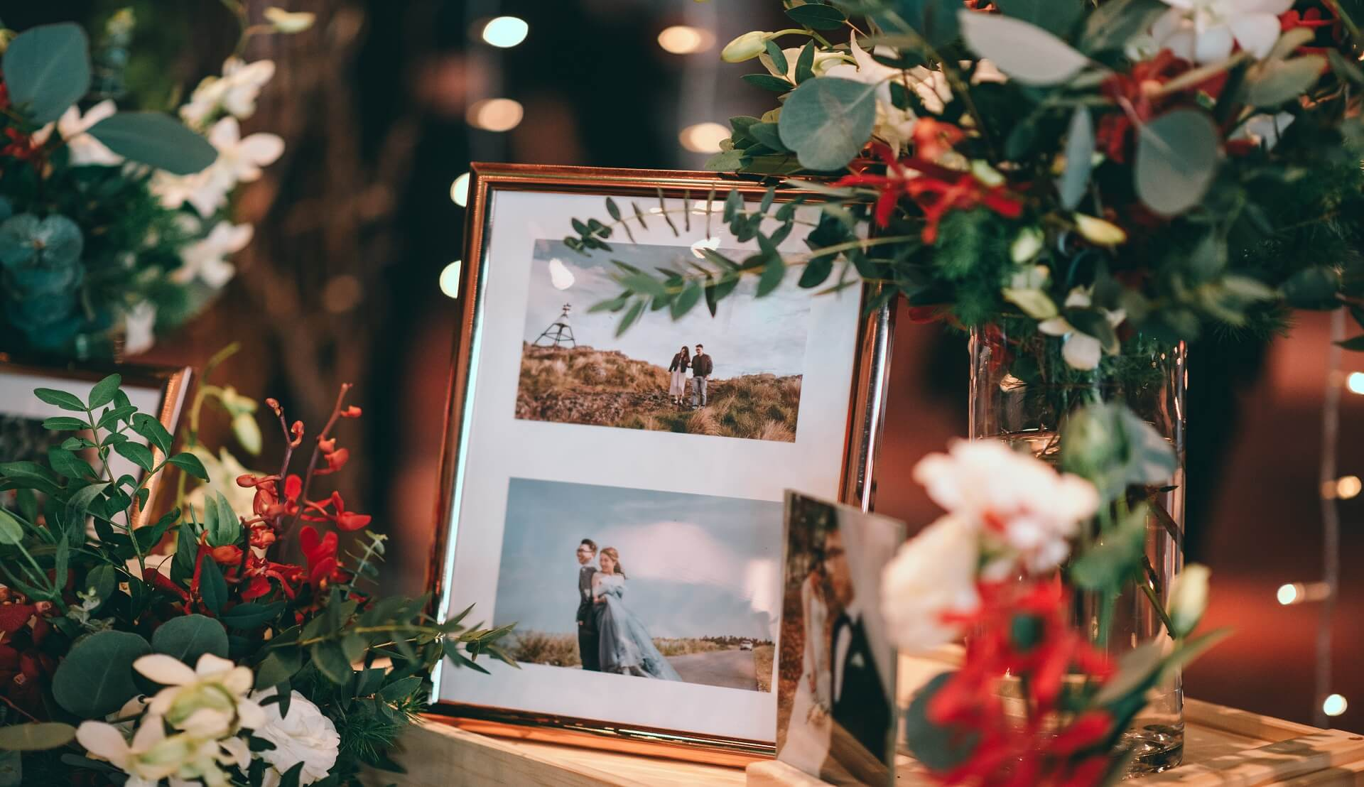 Sugar & Spice Events - Photo frame display