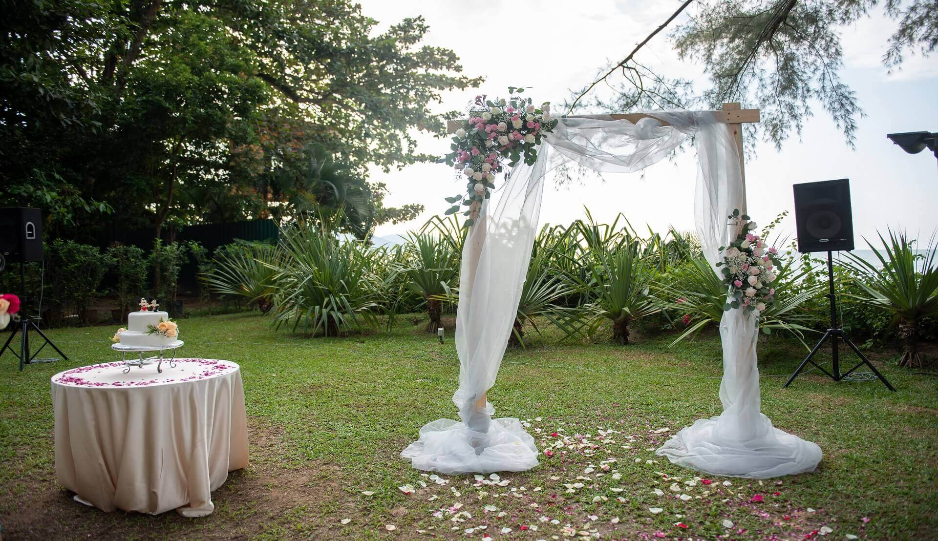Sugar & Spice Events - Wedding Arch for the couple