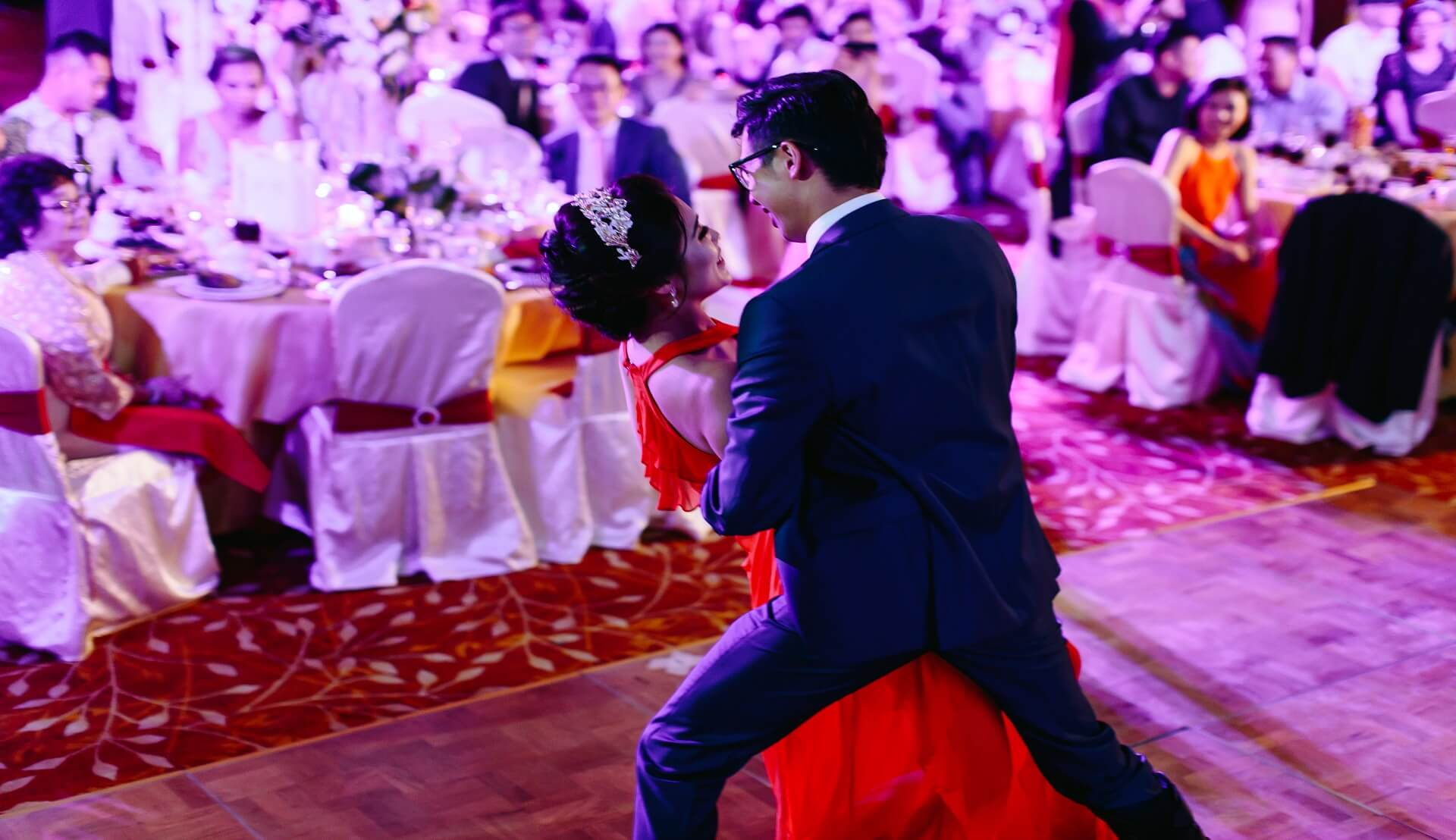 Sugar & Spice Events - Bride and groom first dance